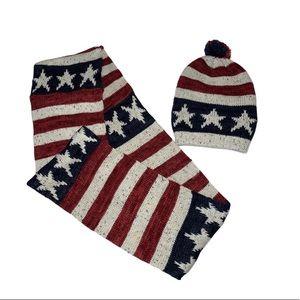MukLuks beanie&scarf set